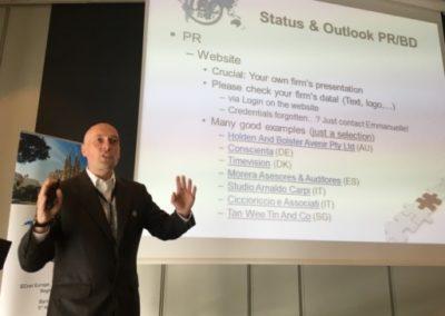 Daniel Ziska, presidente del comité de Relaciones públicas