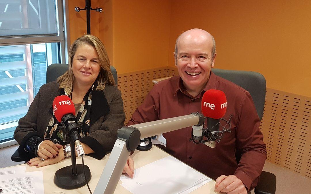 Entrevista a Ana Morera en Radio4