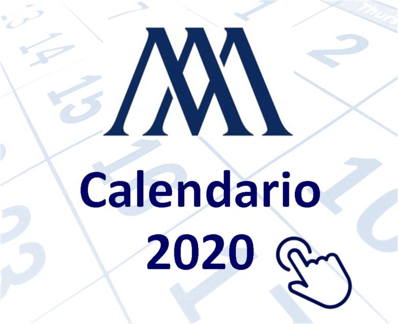 Calendario del Contribuyente enero 2020
